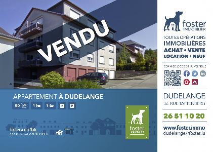 Sold Apartment 2 Rooms DUDELANGE